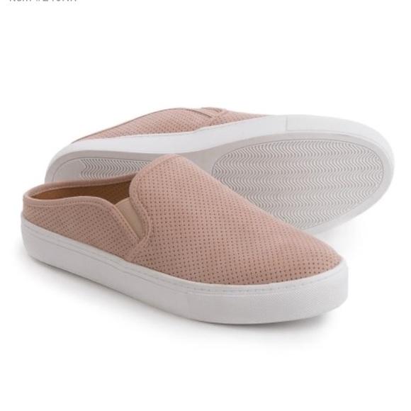9b54b09c2d4 Steve Madden geena blush Sneaker Slides Sz. 7 1 5