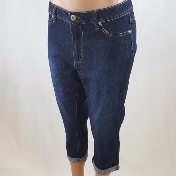 fe81299265f Ashley Stewart Denim - Ashley Stewart Women s Capri Jeans NWOT