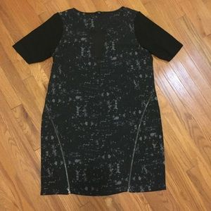 Zipper Splatter print LBD