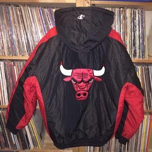 Deadstock Logo Athletic Chicago Bulls winter coat