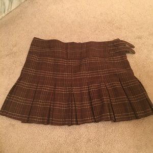 Like new Joie Plaid Mini Skirt