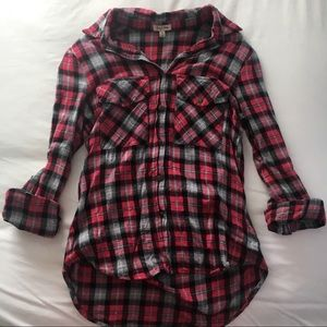 Tops - Festive Flannel Shirt