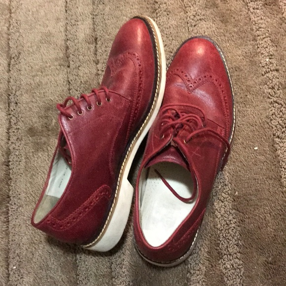 Cole Haan Other - Cole Haan Air Franklin Wingtip Derby Dress Casual 5c093c8ffa8