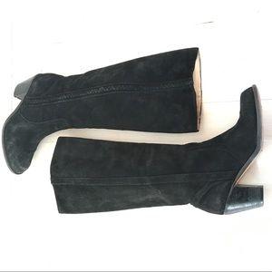 Michael Michael Kors sz 6 Tall Boots Black Suede