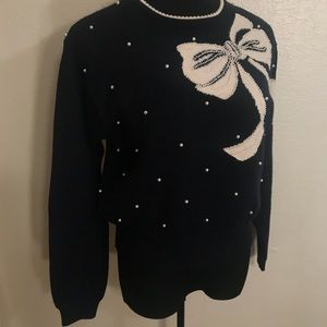 Vintage Sweaters - Vintage Bow sweater