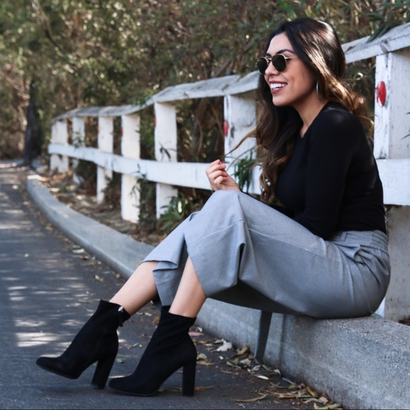 Pants - Checkered culottes