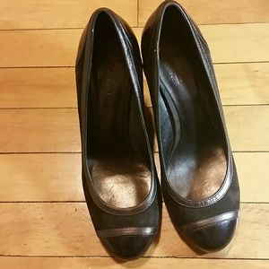 Coach Women's Wedge Brown  Shoes