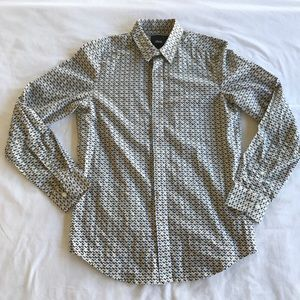 Asos chevron pattern shirt size S