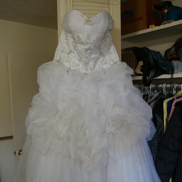 9987b70f378b Fiesta Dresses | Princess Style Wedding Dress Nwt Xxxl Or 3x | Poshmark