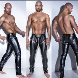 Other - Leather look Pants