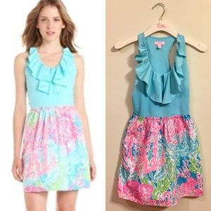 "Lilly Pulitzer ""Let's Cha Cha"" Danita Dress HG"
