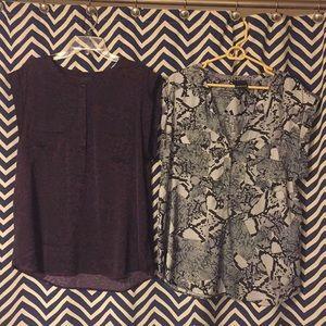 🔥HOT DEAL🔥 2 for 1 Trouvé button up blouses