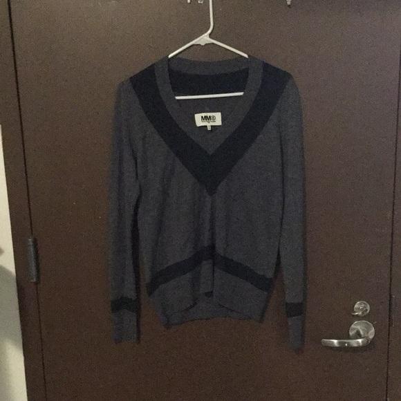 wholesale dealer 3588d 6ff84 Maison Martin Margiela 6 V Neck Sweater