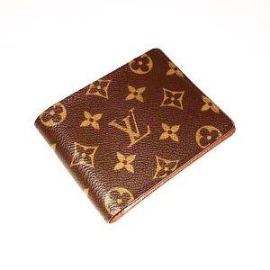 Authentic Vuitton Monogram Bifold Card Wallet