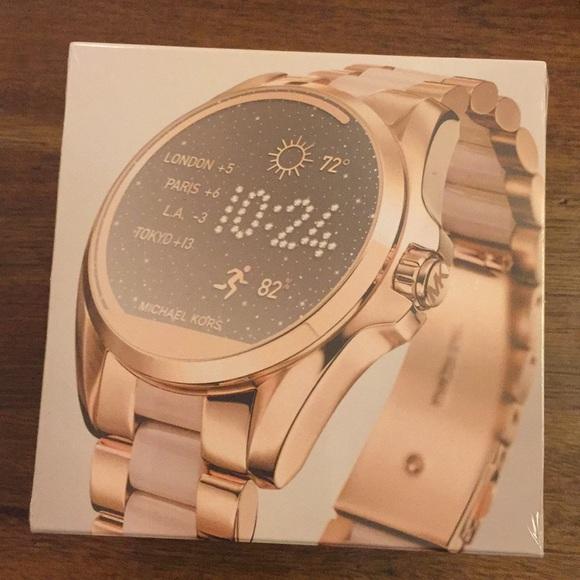 Michael Kors Accessories | Nib Touchscreen Smartwatch Rose