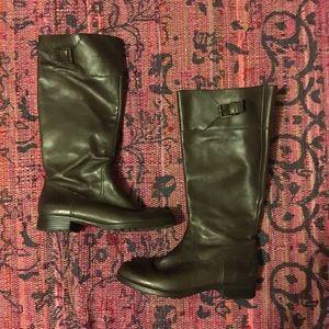 Ralph Lauren leather brown boots