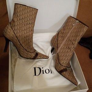 Dior ankle boots botine signature Diorissimo sz.38