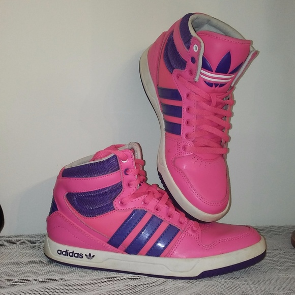 HoT! Retro Vintage style Adidas high top size 6