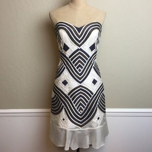 Caroline Herrera strapless dress