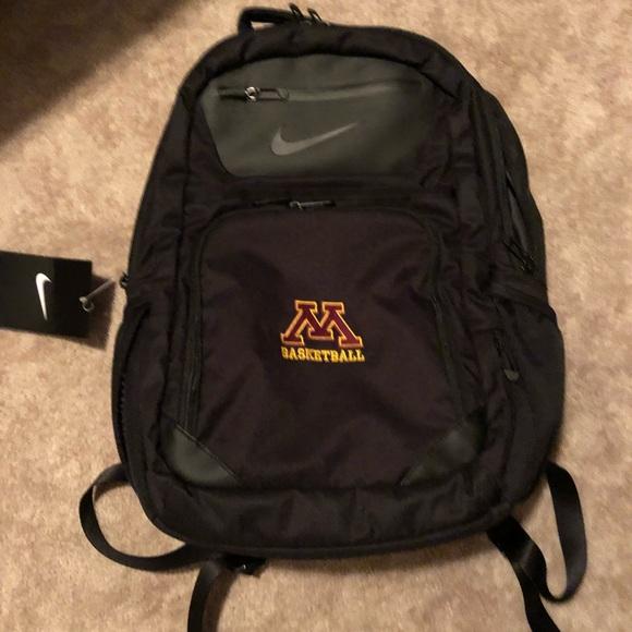 fac048f1da1 Nike Bags   Basketball Gopher Basketball Backpack Nwt   Poshmark