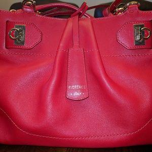 BRAND NEW Red Salvatore Ferragamo shoulder/handbag
