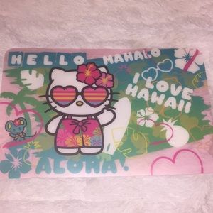 """✨NEW """"HAWAII"""" HELLO KITTY PLACEMAT"""