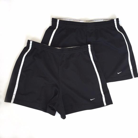 Nike Shorts | Nike Womens Black W White