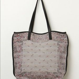 Handbags - ISO Free People Sun Valley Gray Floral Tote