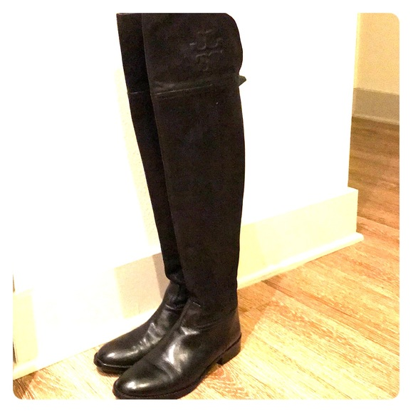 868472e25d6 Tory Burch Simone over-the-knee boots. M 5a1cf76b36d5946d580ff0d9