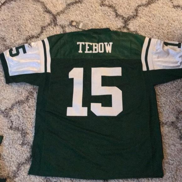 buy popular e1eba ceeb0 Tim Tebow green NY Jets jersey Reebok NWTs NWT