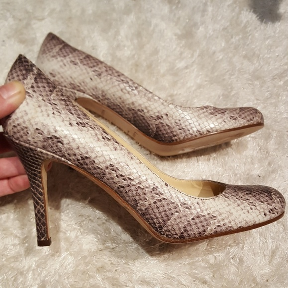 6795388ae kate spade Shoes | New Snakeskin Pumps | Poshmark