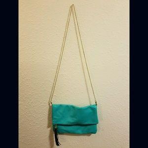 H&M Fold over, crossbody bag.