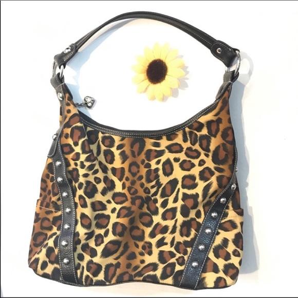 Kathy Van Zeeland Handbags - Kathy Van Zeeland animal print Handbag purse c378032583a17