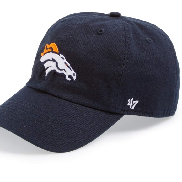 9a45b908798a7f 47 NFL Accessories | Denver Broncos 47 Clean Up Hat | Poshmark
