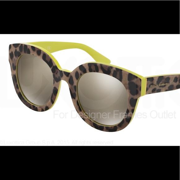 ead9f5b2cd5 Dolce   Gabbana Accessories - Dolce   Gabbana Leopard Print Sunglasses
