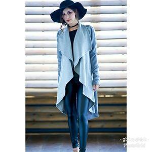 Jackets & Blazers - ⬇️$50 'Fawn' Draped Cardigan