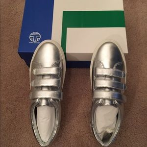 triple-strap sneakers - Metallic Tory Burch 1RvqK3PW