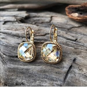 Jewelry - Handcrafted earrings with Swarovski crystal #217