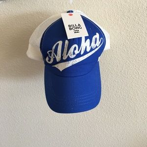 Billabong Aloha Trucker Hat New With Tags
