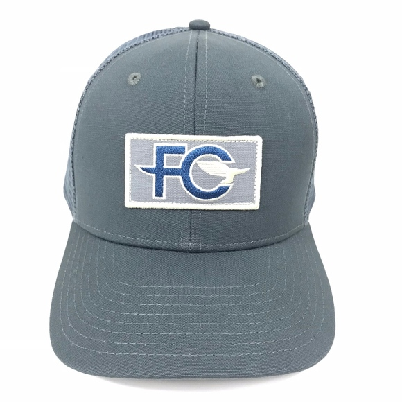 9f3c3b48b43ce Patagonia FCD Anvil Patch Trucker Hat Forge Gray
