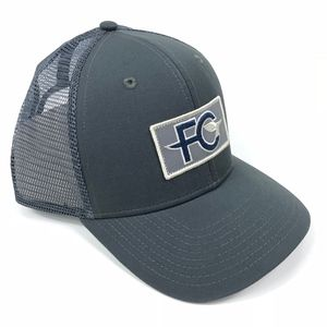 e8c28d9b2a1d0 Patagonia Accessories - Patagonia FCD Anvil Patch Trucker Hat Forge Gray