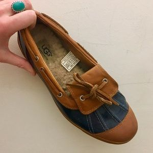 UGG Shoes - Like New UGG Ashdale Duck Shoes Navy/Dark Teal
