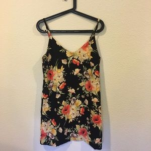 Sanctuary Dresses - NWT Sanctuary floral black slip dress