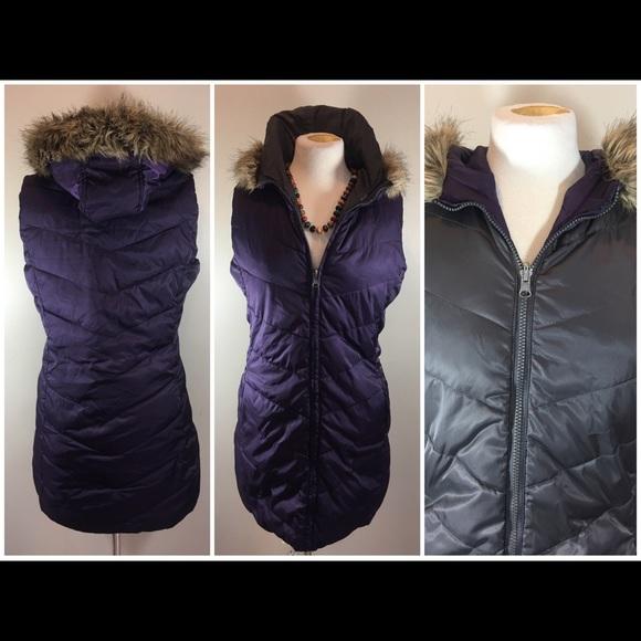 Coldwater Creek Jackets & Blazers - Reversible Puffer Vest