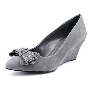 "BCBGeneration ""Albaz"" Suede Wedge Shoes"