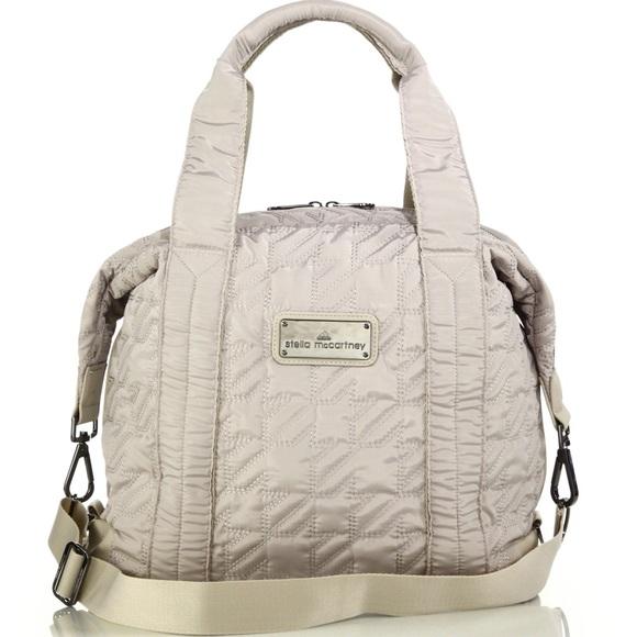... Adidas by Stella McCartney Bags Small Quilted Gym Bag Poshmark 0520fa45582e9