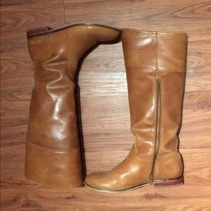 Shoemint Heeled Riding Boots
