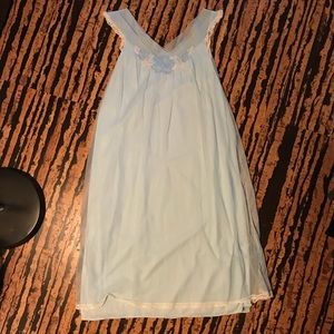 Light blue vintage nightgown