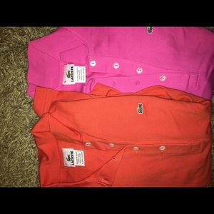 Lacoste long sleeve shirts