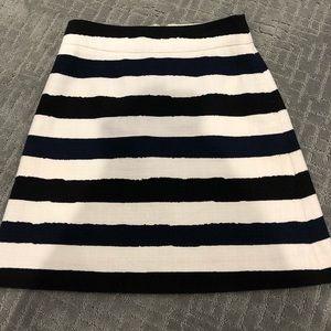 Kate Spade ♠️ Stripped Skirt